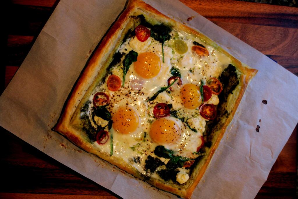 Egg Breakfast Tart