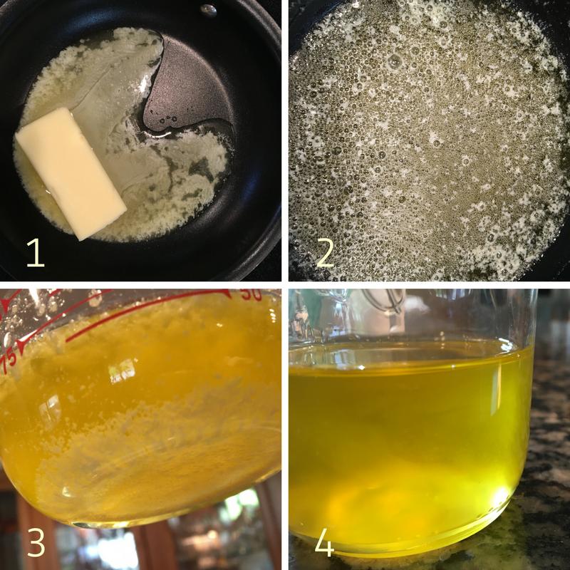 Clarified Butter Step